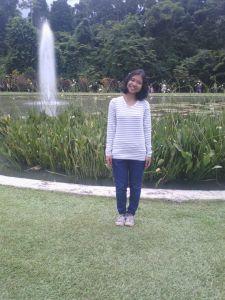 Salah satu dari ratusan foto di Kebun Raya Bogor