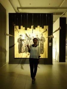 Saya dan pameran di GNI.